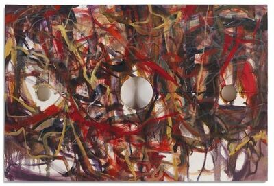 """Jim Shaw, 'Oil on Canvas """"Stocks Painting"""" by Jim Shaw', 2006"""