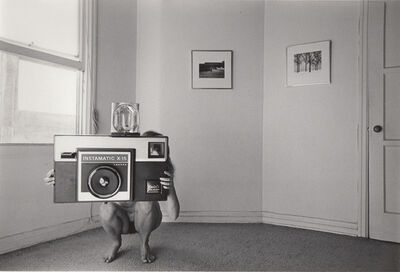 Ed Sievers, 'Untitled (oversized camera) from People in My Corner, Venice, CA', 1973