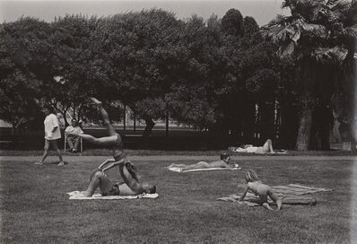 Ed Sievers, 'Untitled (people laying in park)', c. 1960's