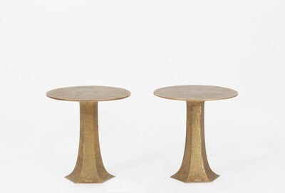 Luciano Frigerio, 'Pair of Rapsodia side tables by Luciano Frigerio', 1968-1970
