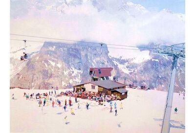 Massimo Vitali, 'Courmayeur Mont Blanc', 2006