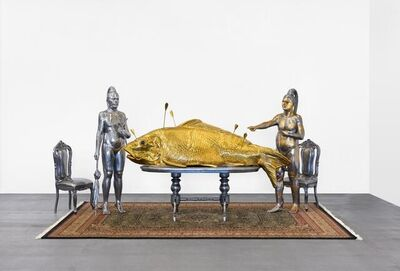 Entang Wiharso, 'Feast Table Undeclared Perceptions', 2012