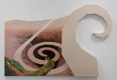 Lynn Aldrich, 'Pathways (Fragments After Smithson and Van Gogh)', 1988