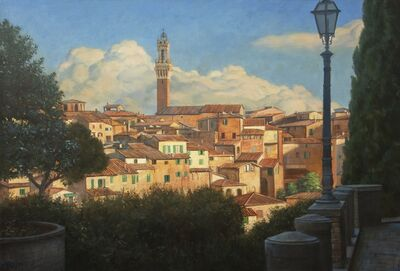 Bradley Stevens, 'Approach to Siena'