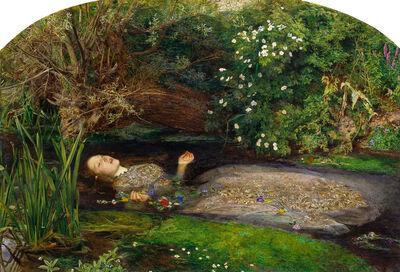 Sir John Everett Millais, 'Ophelia', 1851-1852
