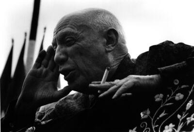Lucien Clergue, 'Picasso aux Arenes de Frejus, Frejus', 1962