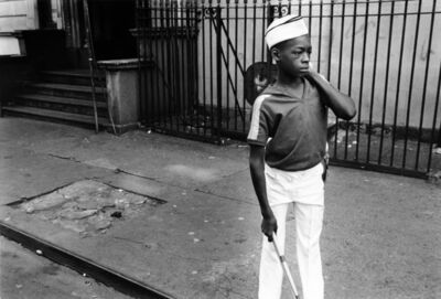 Dawoud Bey, 'Boy from Marching Band, 1977', 1977