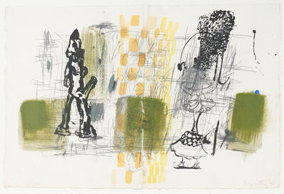 Amy Sillman, 'Untitled', 1990