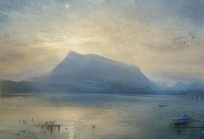 Hiroyuki Masuyama, 'J.M.W. Turner The Blue Rigi, Sunrise', 2015