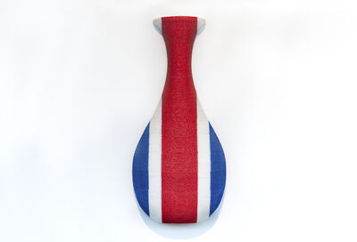 anothermountainman (Stanley Wong), 'back to the future / redwhiteblue vase 12', 2006