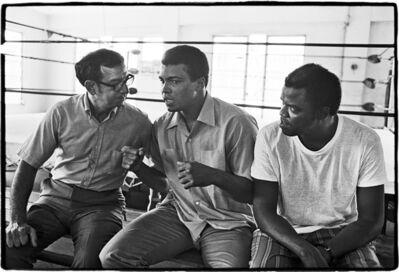 Al Satterwhite, 'Muhammad Ali ( Angelo Dundee and Bundini Brown )', 1971
