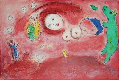 Marc Chagall, 'Springtime in the meadow', 1961