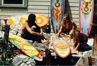 Jeff Divine, 'Brotherhood of Eternal Love, Canyon Acres, Laguna Beach, CA', 1974