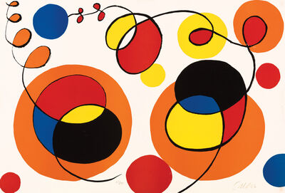Alexander Calder, 'Loops and Spheres, 53/95', XX Century