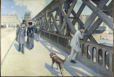 Gustave Caillebotte, 'Le Pont de l'Europe (The Europe Bride)', 1876