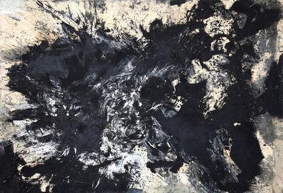 Fred Thieler, 'Noir Brisé', 1961