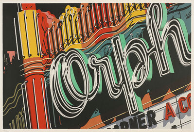 Robert Cottingham, 'Orph, from Documenta portfolio', 1972