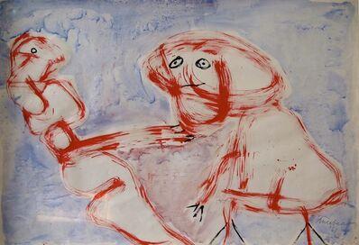 Lucebert, 'Guitar', 1961