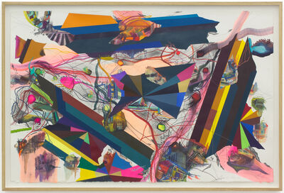 Franz Ackermann, 'Fracht und Ladung', 2017