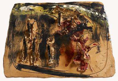 Lucio Fontana, 'Adoration', 1954