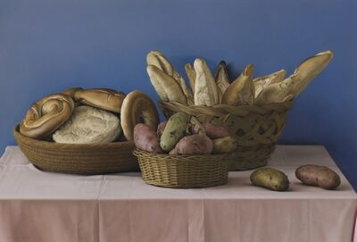 Claudio Bravo, 'Still Life with Bread and Potatoes', 1985