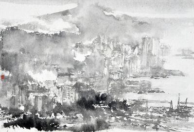 Hung Hoi, 'Beneath the Victoria Peak of Hong Kong', 2014