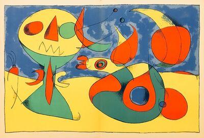 Joan Miró, 'From 'Derrière le Miroir - Joan Miró, Artigas'', 1956
