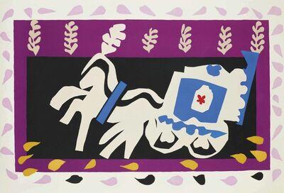 Henri Matisse, 'L'enterrement de Pierrot, from: Jazz', 1947