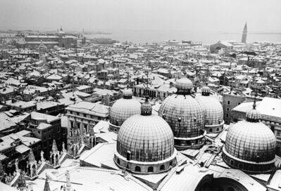 Gianni Berengo Gardin, 'Venezia sotto la neve', anni 1960