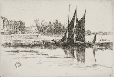 James Abbott McNeill Whistler, 'Hurlingham', 1879