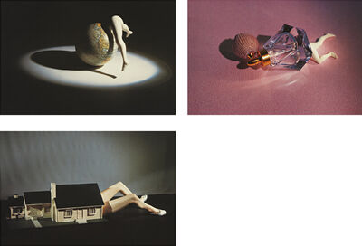 Laurie Simmons, 'Lying Objects: three plates', 2012