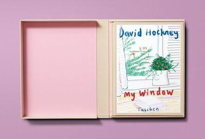 David Hockney, 'My Window', 2019