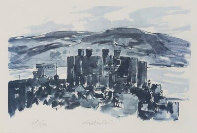 Kyffin Williams, 'Conwy Castle'