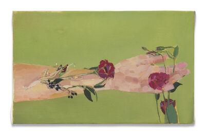 Fatma Shanan, 'Green background', 2021