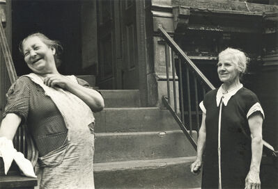 Helen Levitt, 'New York (laughing women)', ca. 1945