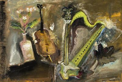 James Martin, 'Green Harp', 1987