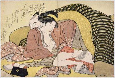 Katsukawa Shunsho, 'Spring Leaf ', 1790 ca.
