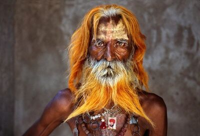 Steve McCurry, 'Rabari Tribal Elder, Rajasthan, India', 2010