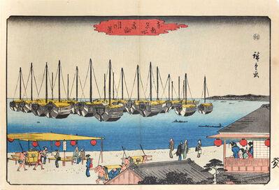 Utagawa Hiroshige (Andō Hiroshige), 'Full Moon over Takanawa ', ca. 1845