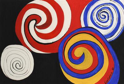 Alexander Calder, 'Eclosions', 1971