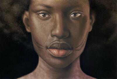 Babajide Olatunji, 'Tribal Marks Series IV #29', 2020