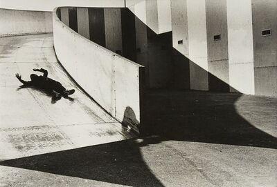 Burk Uzzle, 'Park Slide, Washington DC', 1967