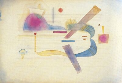 Wassily Kandinsky, 'Annaherung', 1931