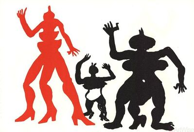 Alexander Calder, 'Derriere le Miroir', (Date unknown)