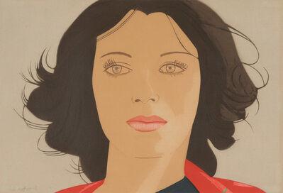 Alex Katz, 'Ann Lauterbach', 1977