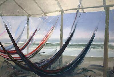 Joel Janowitz, 'Hammocks and Sea', 2019