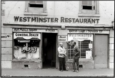 George Hallett, 'Westminster Restaurant', 1968