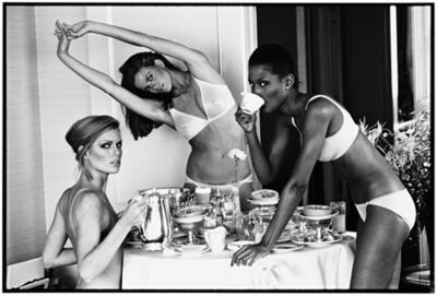 Arthur Elgort, 'Patti Hansen, Lisa Taylor, and Beverly Johnson, San Francisco', 1976