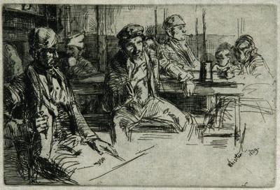 James Abbott McNeill Whistler, 'Longshoremen', 1859