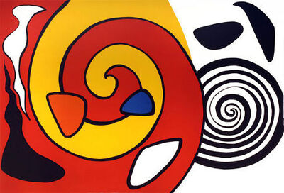 Alexander Calder, 'Spirals and Forms', ca. 1965